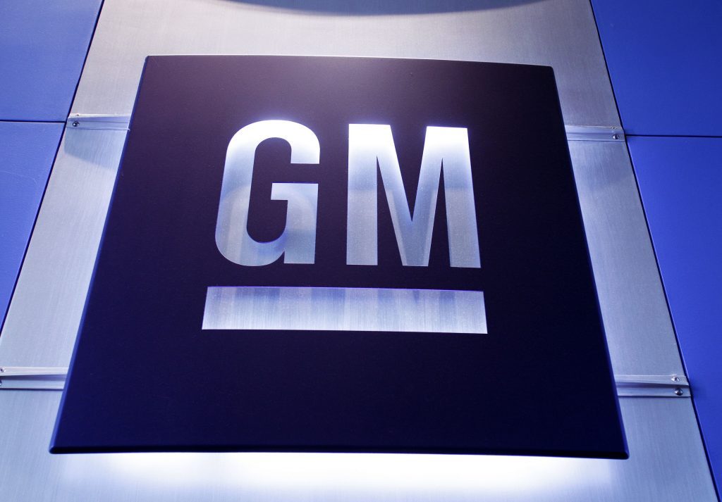 The General Motors logo