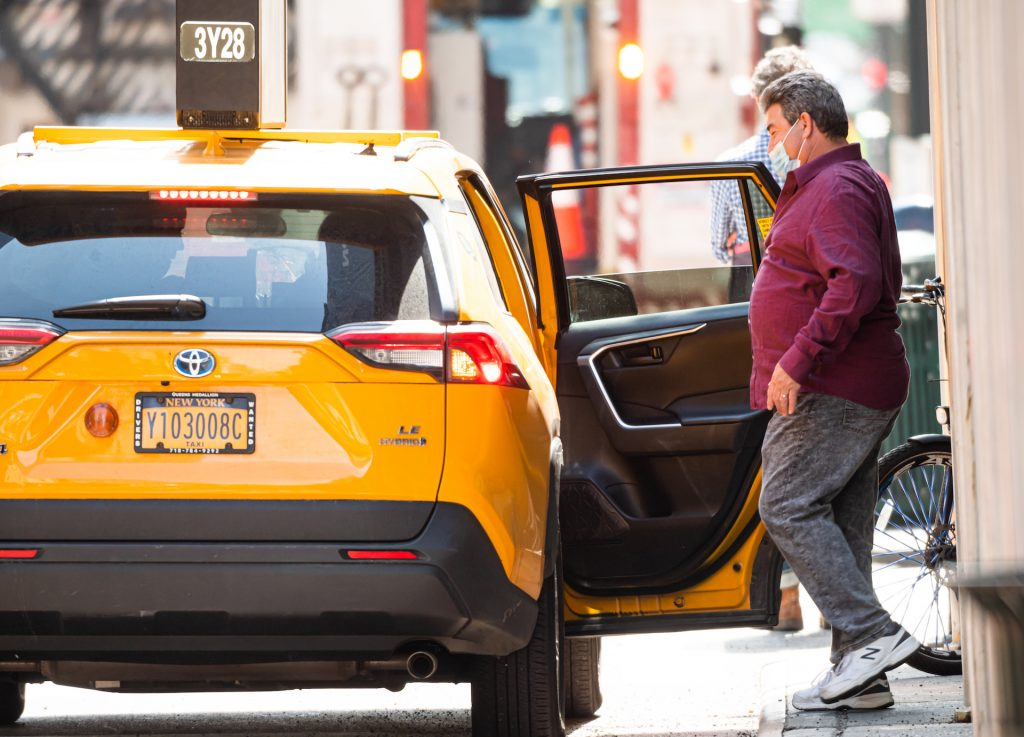 An image of a Taxi in New York City.