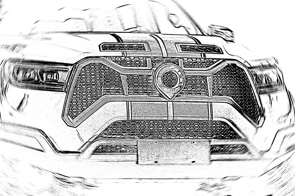 Great Wall Shelby Baja Snake Cannon pickup concept