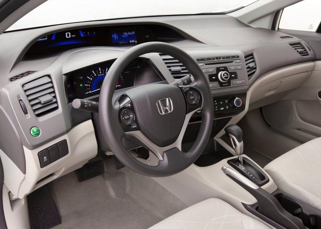 2012 Honda Civic HF interior