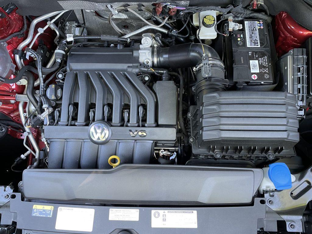 2021 Volkswagen Altas engine