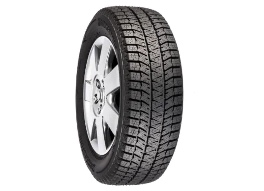Michelin latitude winter snow tire against a white backdrop