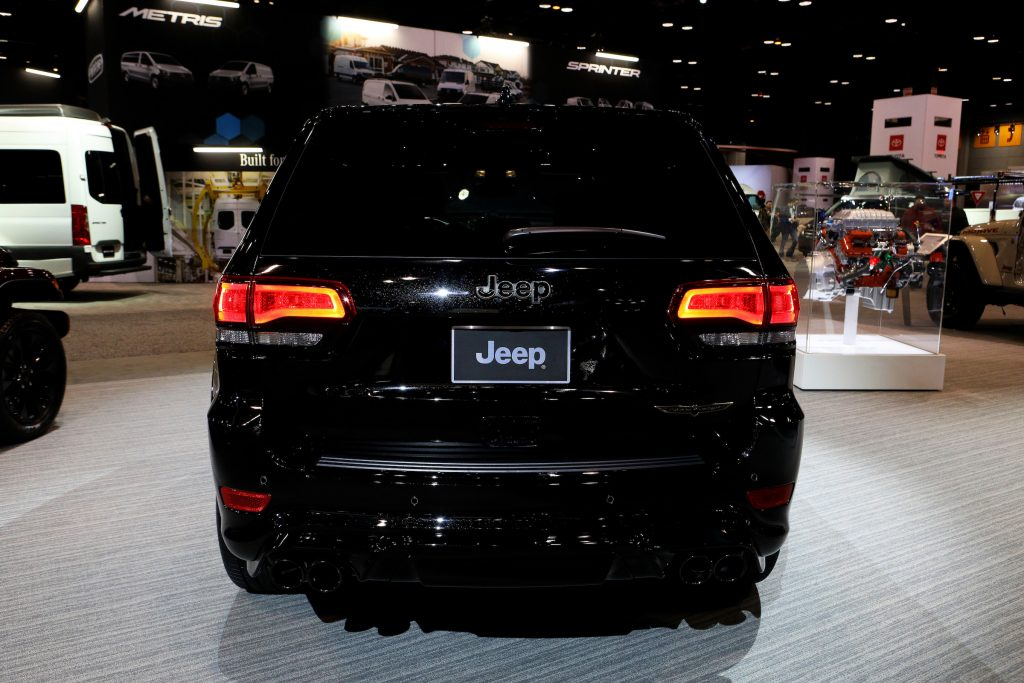 2020 Jeep Grand Cherokee Trackhawk is on display at the 112th Annual Chicago Auto Show