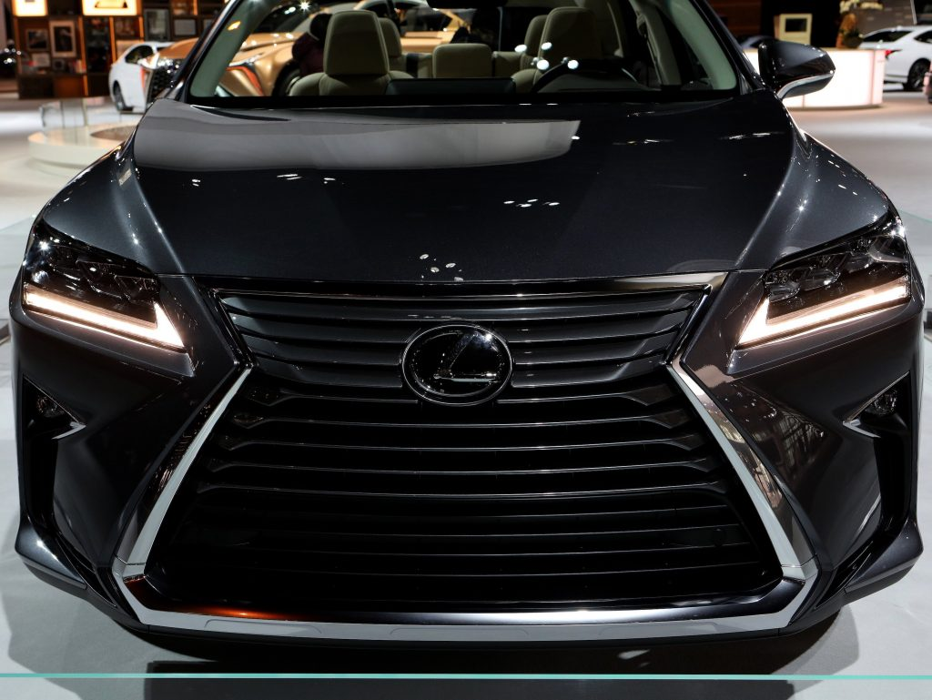 2018 Lexus RX 350L is on display at the 110th Annual Chicago Auto Show