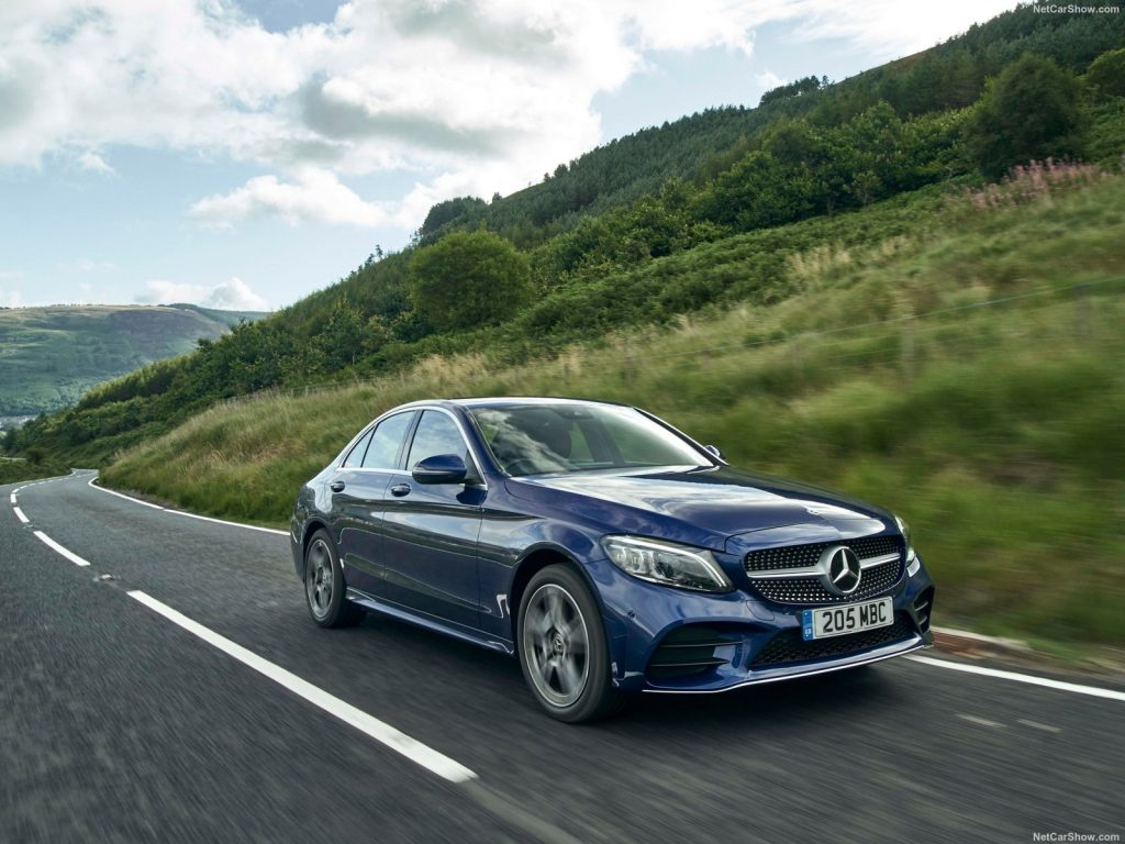 An image of a Mercedes-Benz C-Class parked outside.