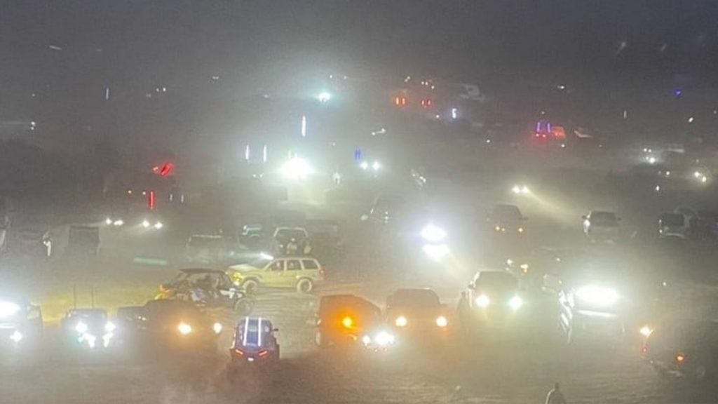 Pirates Off-Road illegal party at night