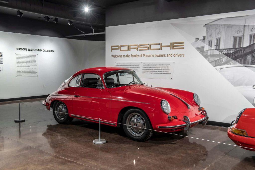 rare Porsche 356 in red