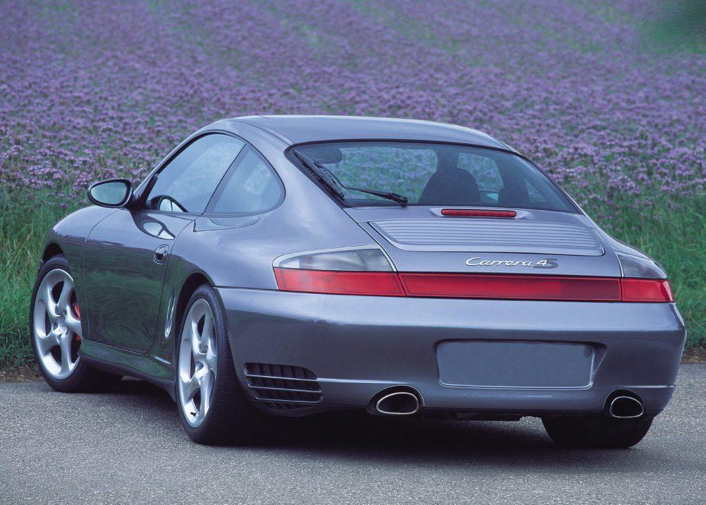 2002 Porsche 911 Carrera 4S rear shot
