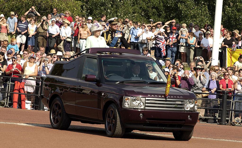 Queen Elizabeth II and the Duke of Edinburgh
