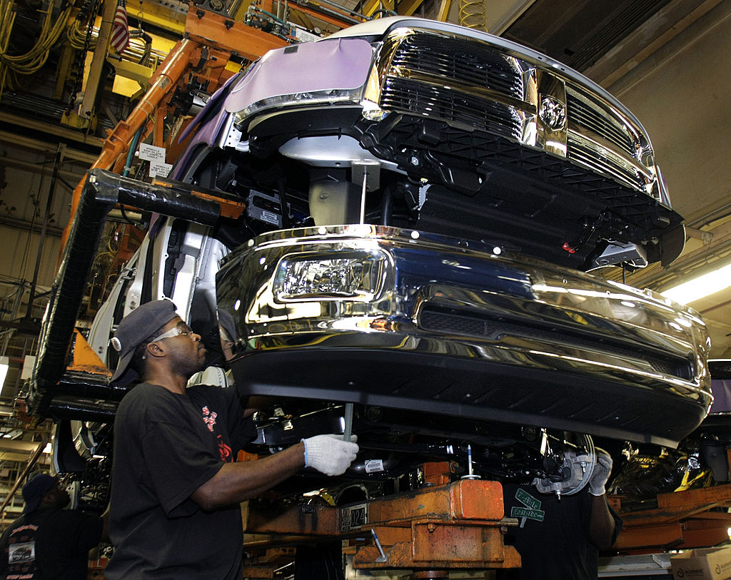 Ram truck plant assembly