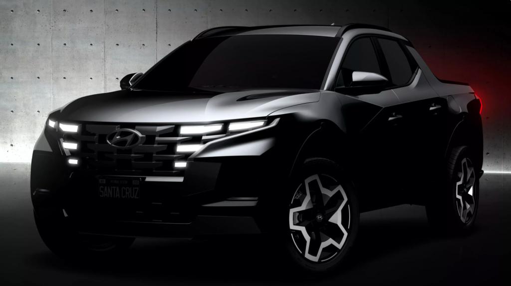 2022 Hyundai Sant Cruz Teaser