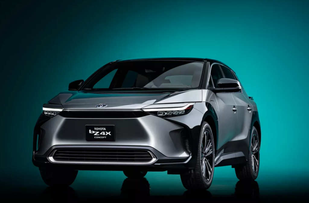 The Toyota BZ4X Beyond Zero Concept