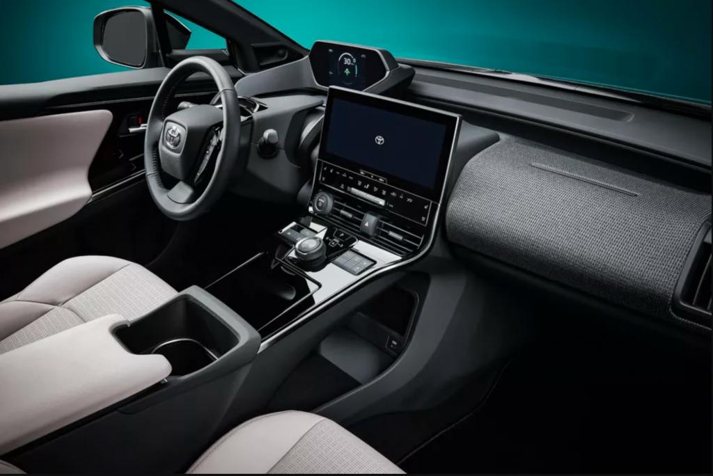 Toyota bZ4X Concept Interior