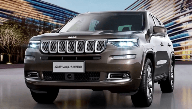 2021 Jeep Commander PHEV rendering