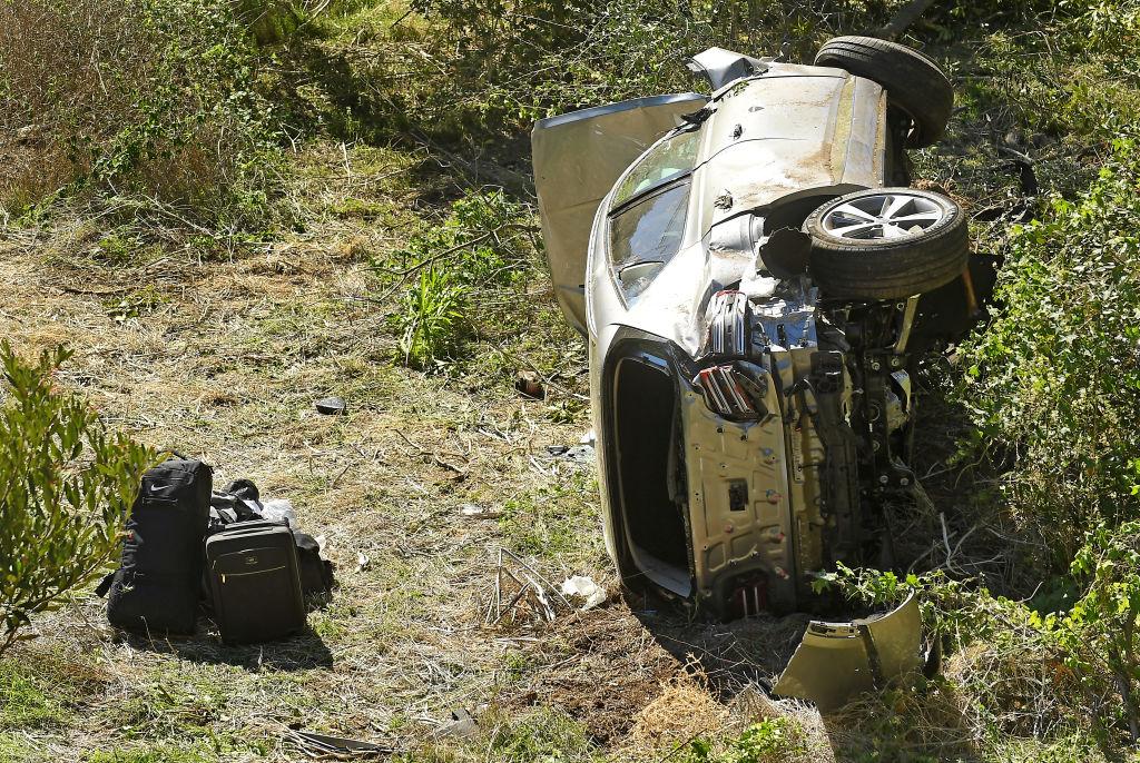Tiger Woods crash SUV