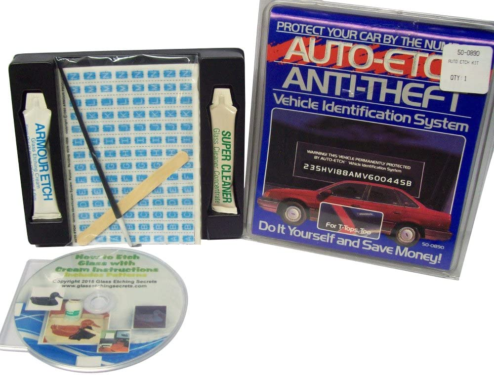 A VIN etching kit that you can buy on Amazon.com