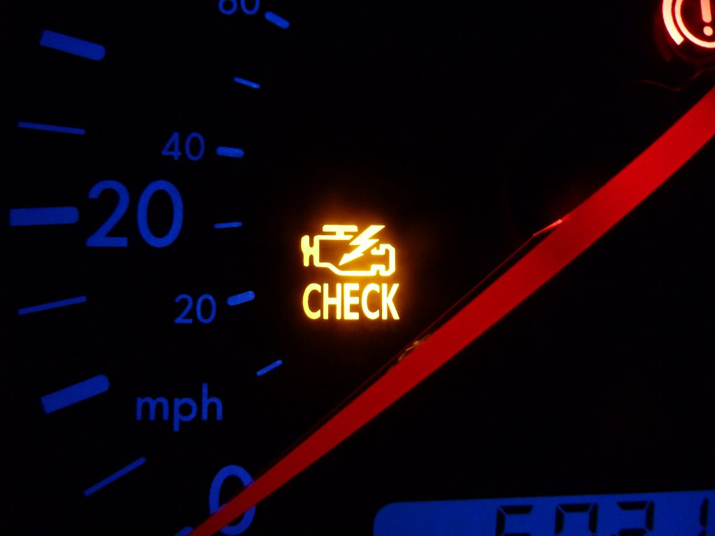 Check Engine Light on a Volkswagen
