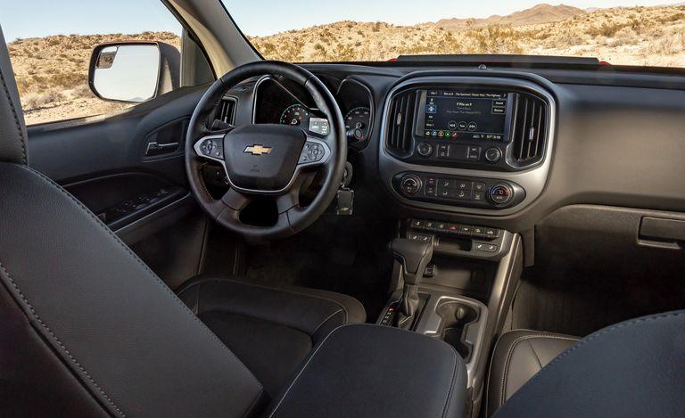 The 2021 Chevy Colorado Interior