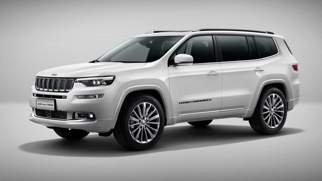 The possible 2021 Jeep Commander