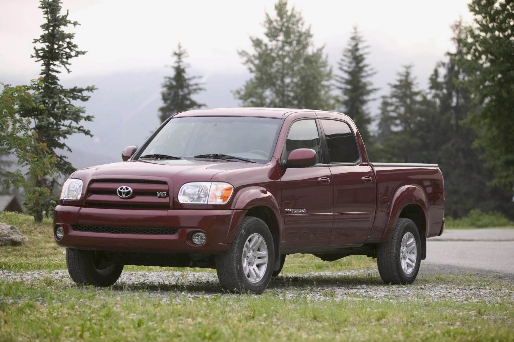 An image of a Toyota Tundra parked outside, one of the best used pickup trucks under $10,000.