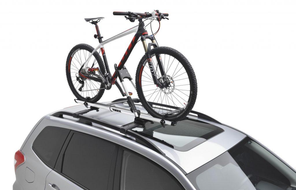 Subaru Roof-Mounted Bike Rack