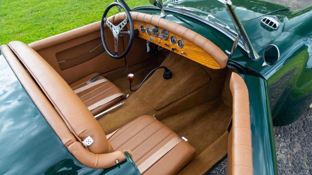 Custom Ford Roadster interior