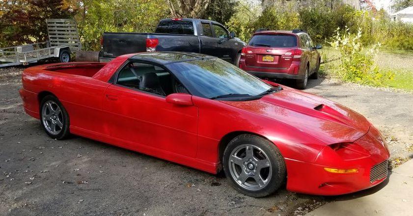 1997 Camaro Ute custom front 3/4 view
