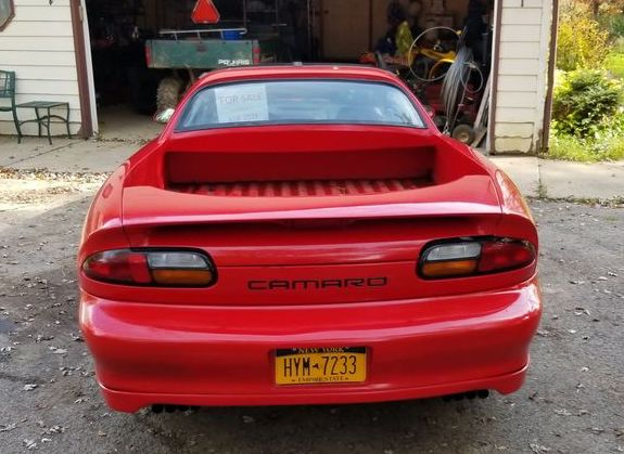rear view of 1997 Camaro Ute custom | Facebook
