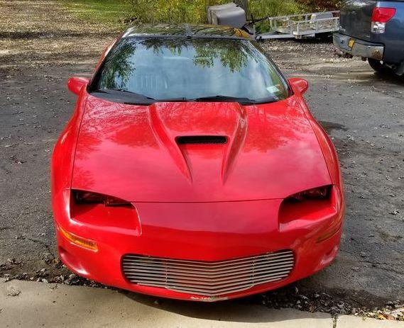 1997 Camaro Ute custom front view