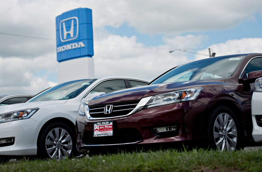 2013 through 2015 Honda Accord vehicles
