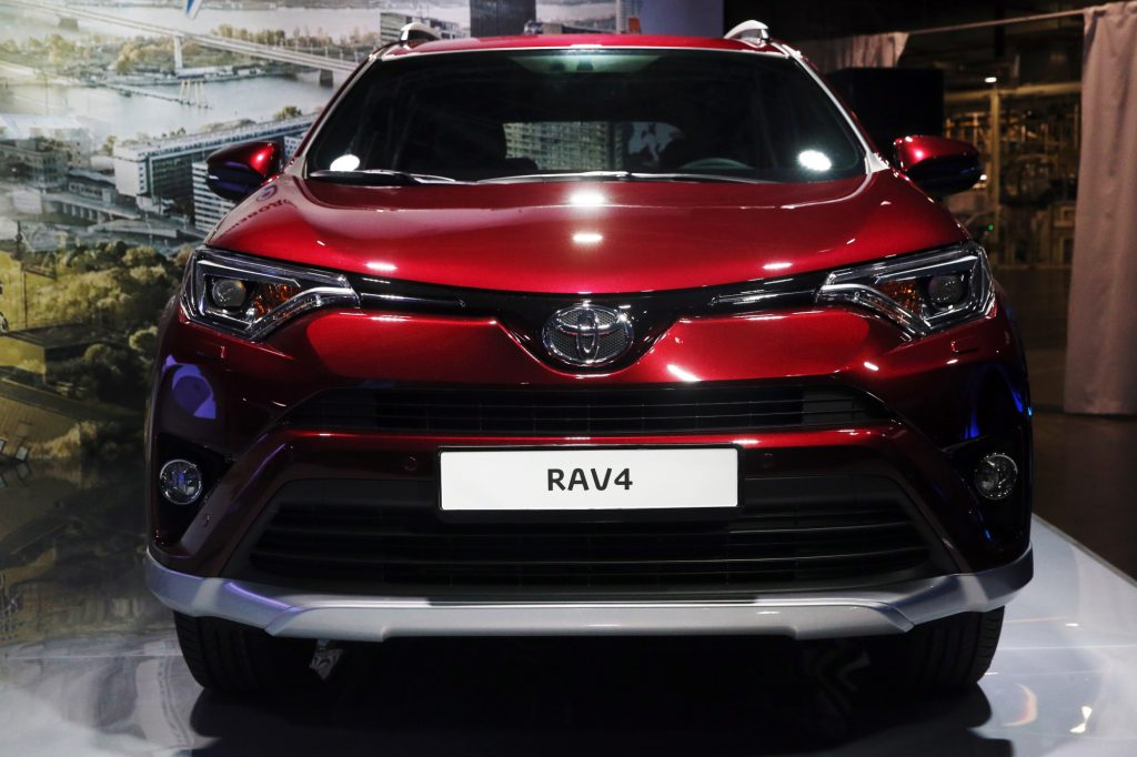 The Toyota RAV4 is a fuel-efficient used compact SUV