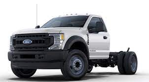 a stock 2020 Ford F-550