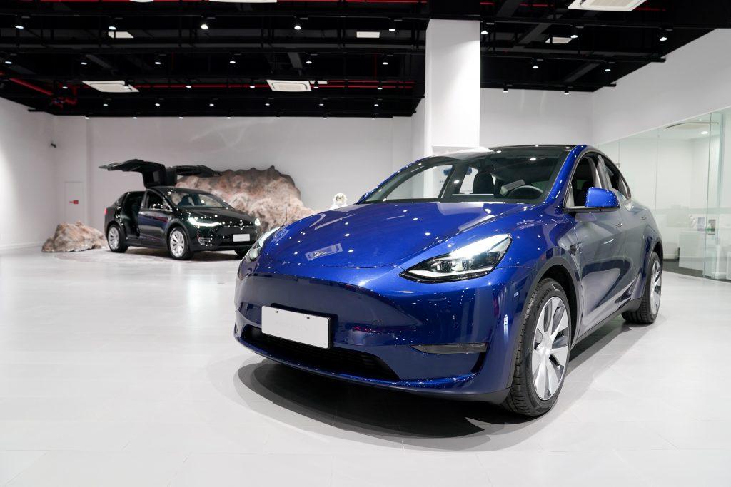 Tesla Model Y | Ding Ting/Xinhua via Getty