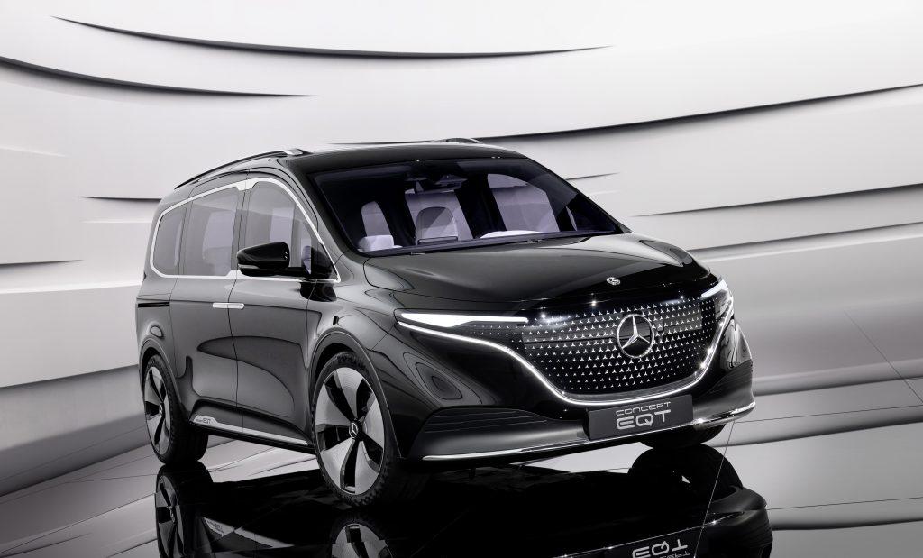 The Mercedes EQT concept