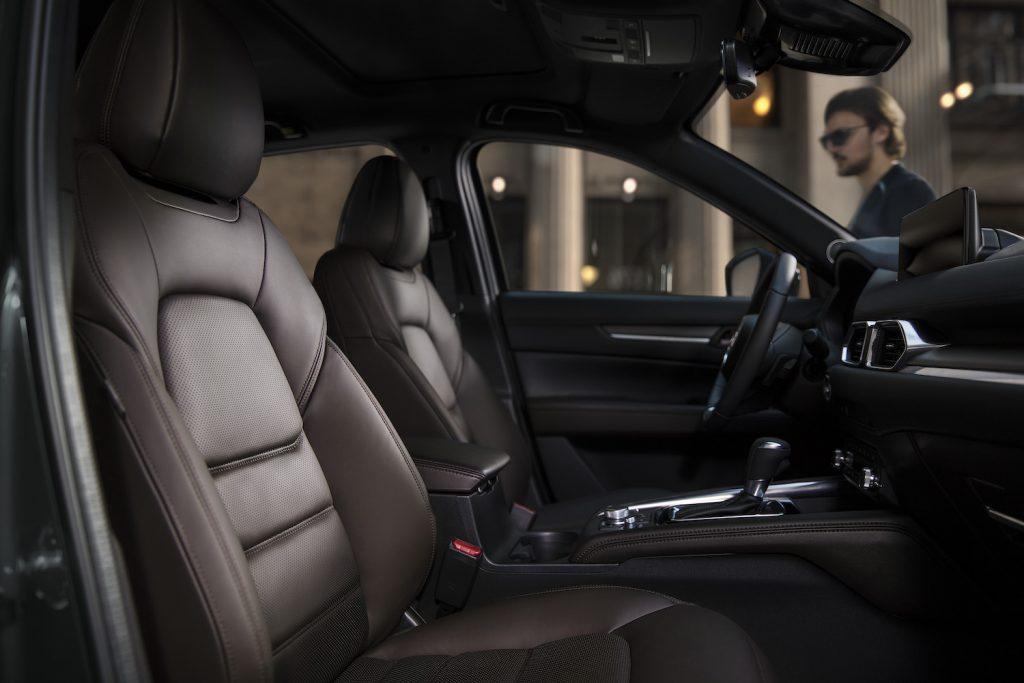 The interior of the 2021 Mazda CX-5.