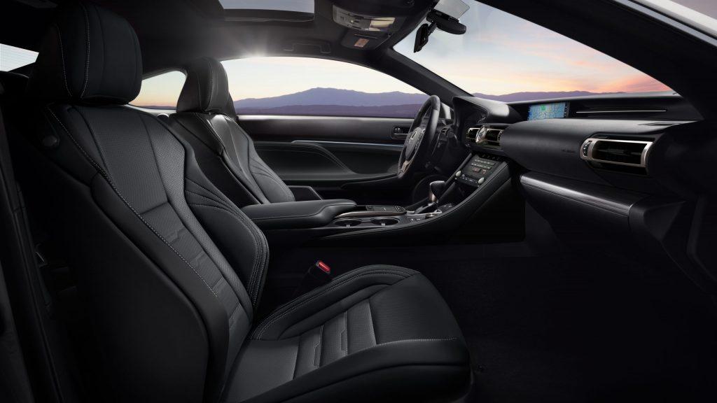 2021 Lexus RC 350 F Sport Interior
