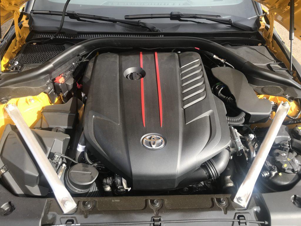2021 Toyota Supra 3.0 engine
