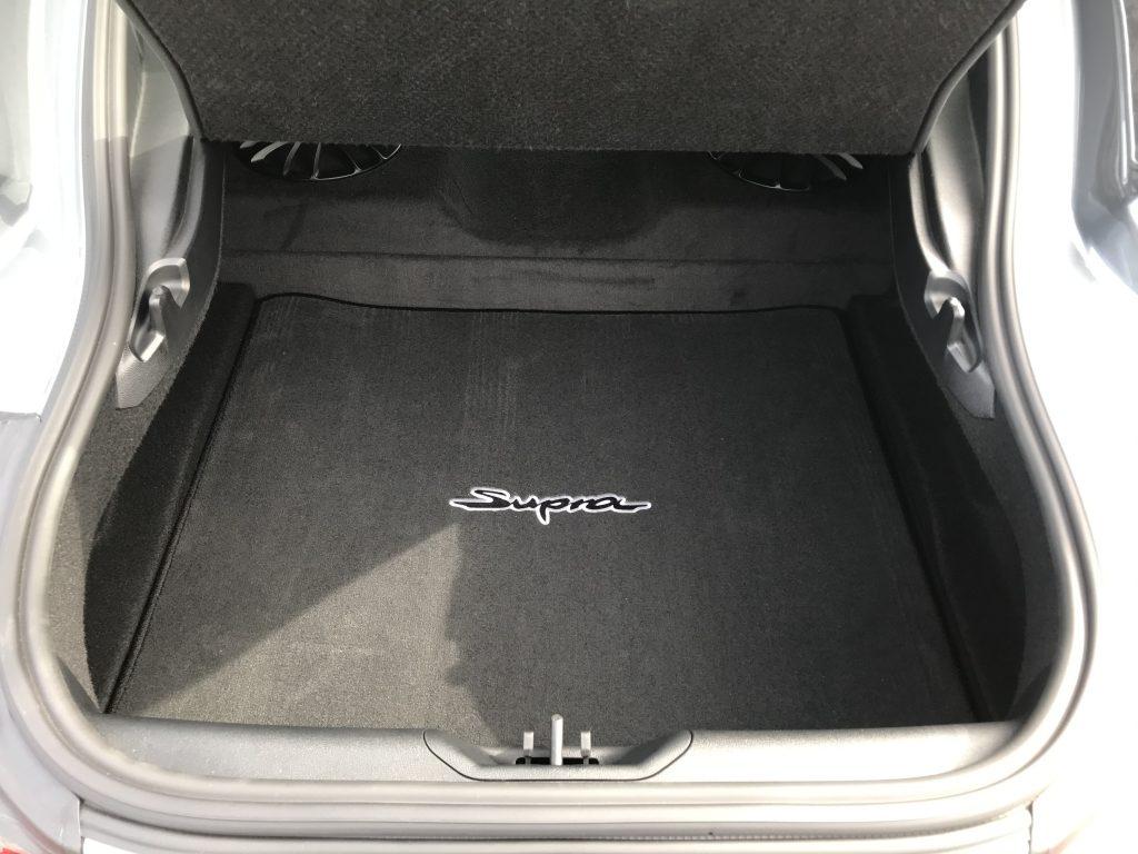 2021 Toyota Supra  trunk space