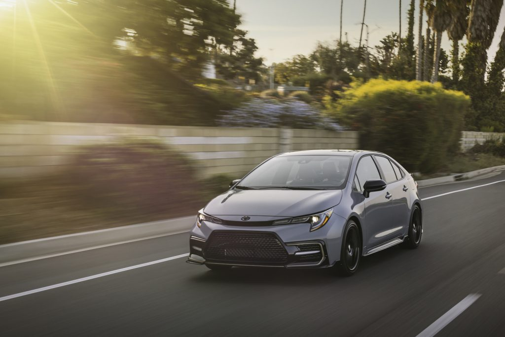 2021 Toyota Corolla driving, the 2021 Toyota Corolla is among the best new cars under $30,000