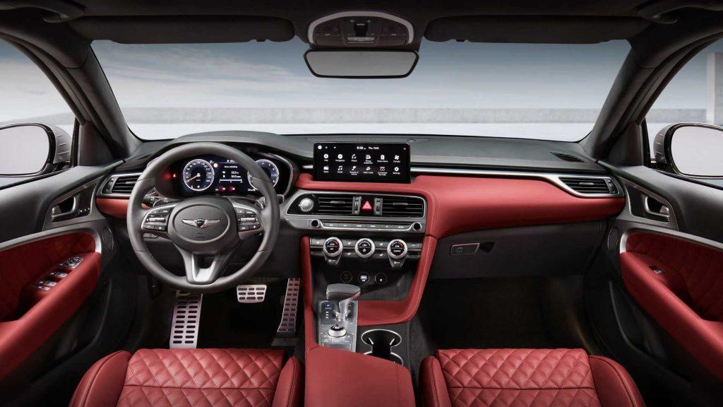2022 Genesis G70 Shooting Brake wagon interior