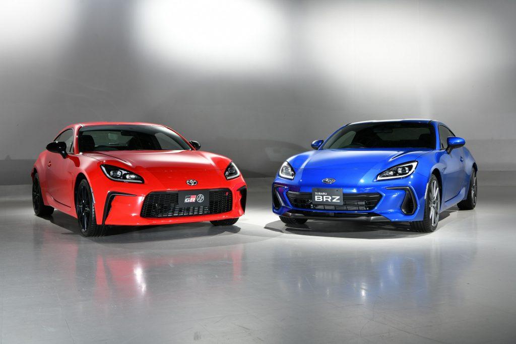 2022 Toyota GR 86 and Subaru BRZ