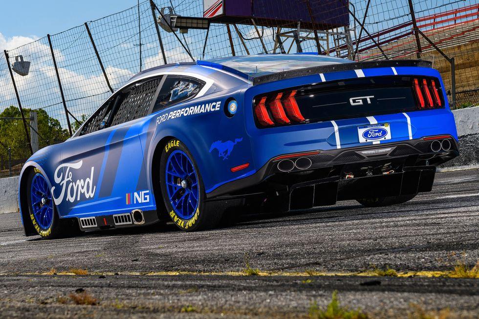 2022 Next-Gen NASCAR Ford Mustang