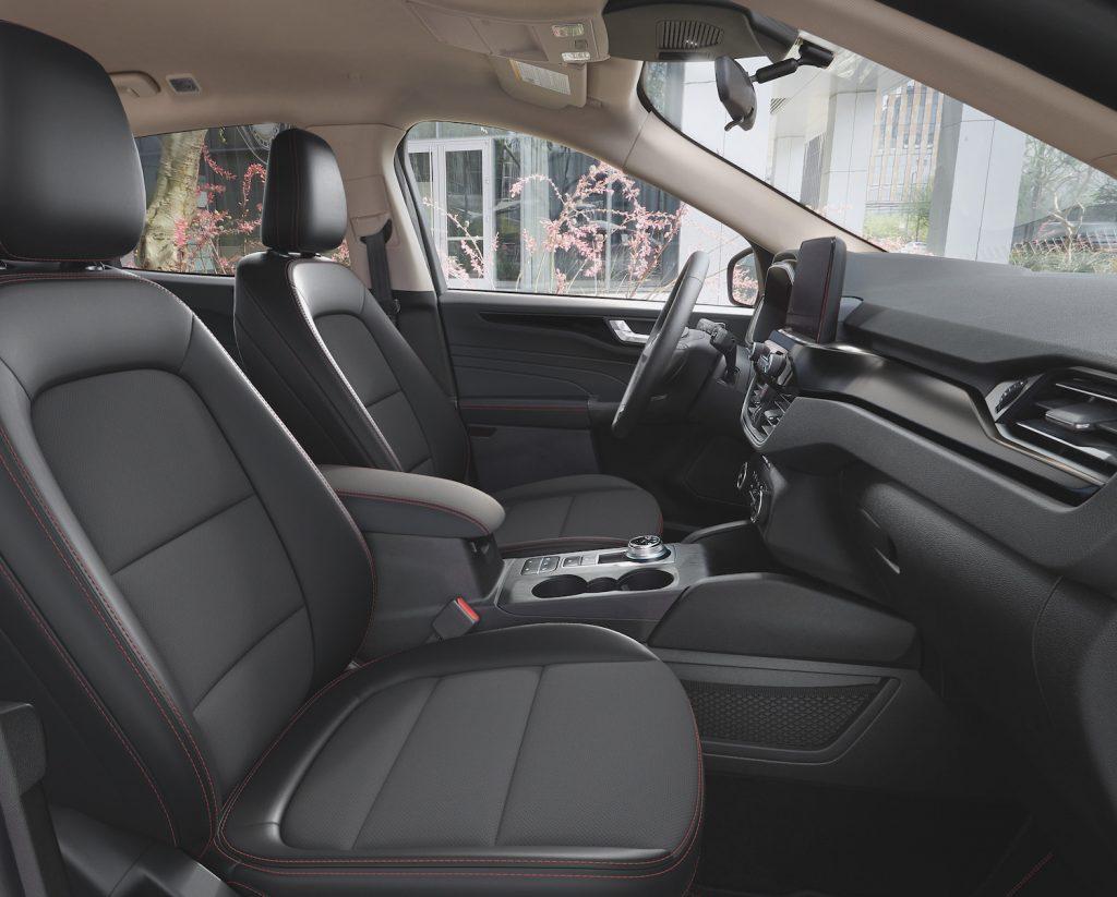 2021 Ford Escape Stealth interior