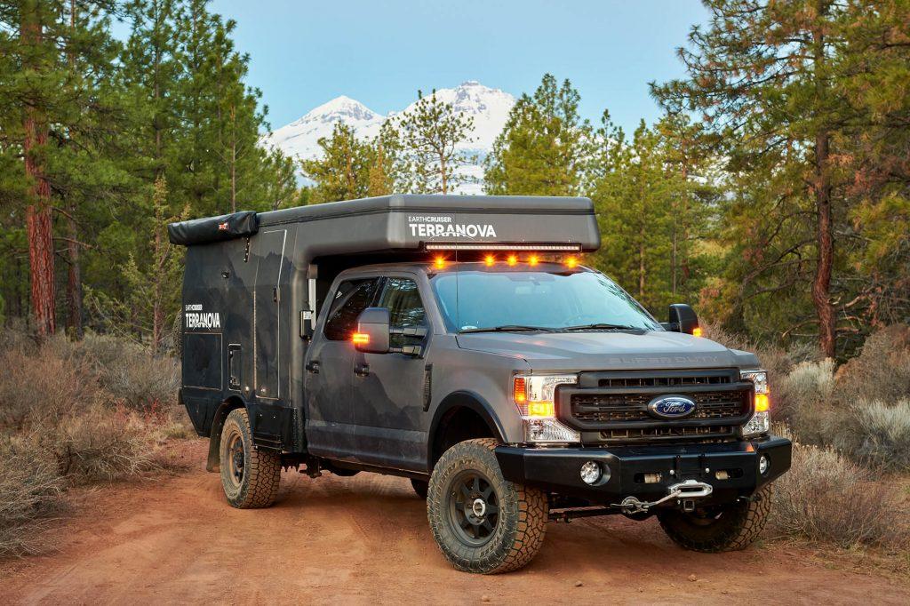 the new EC Terranova truck camper RV for overland adventure