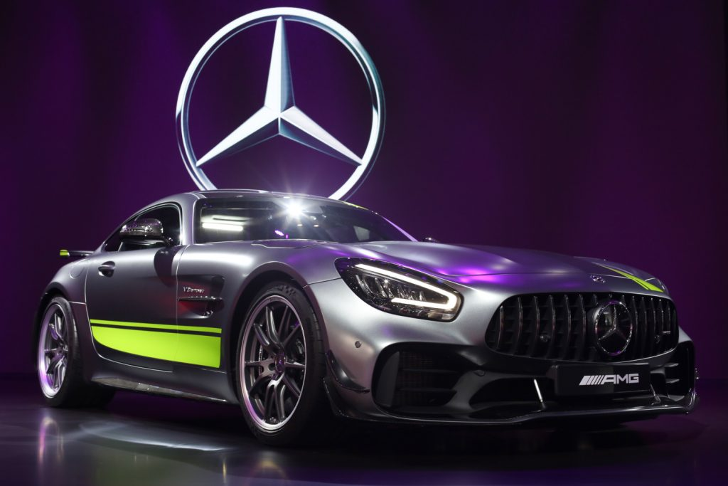 Valtteri Bottas Mercedes AMG GT