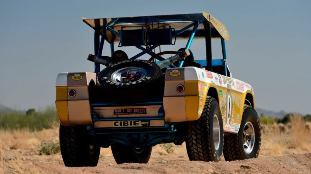 Big Oly 1969 Ford Bronco Baja 1000 winner | Mecum