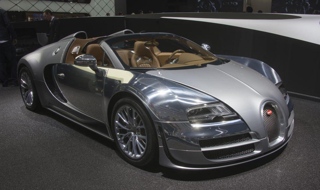 Bugatti Veyron Grand Sport Vitesse at the Frankfurt Auto Show 2013