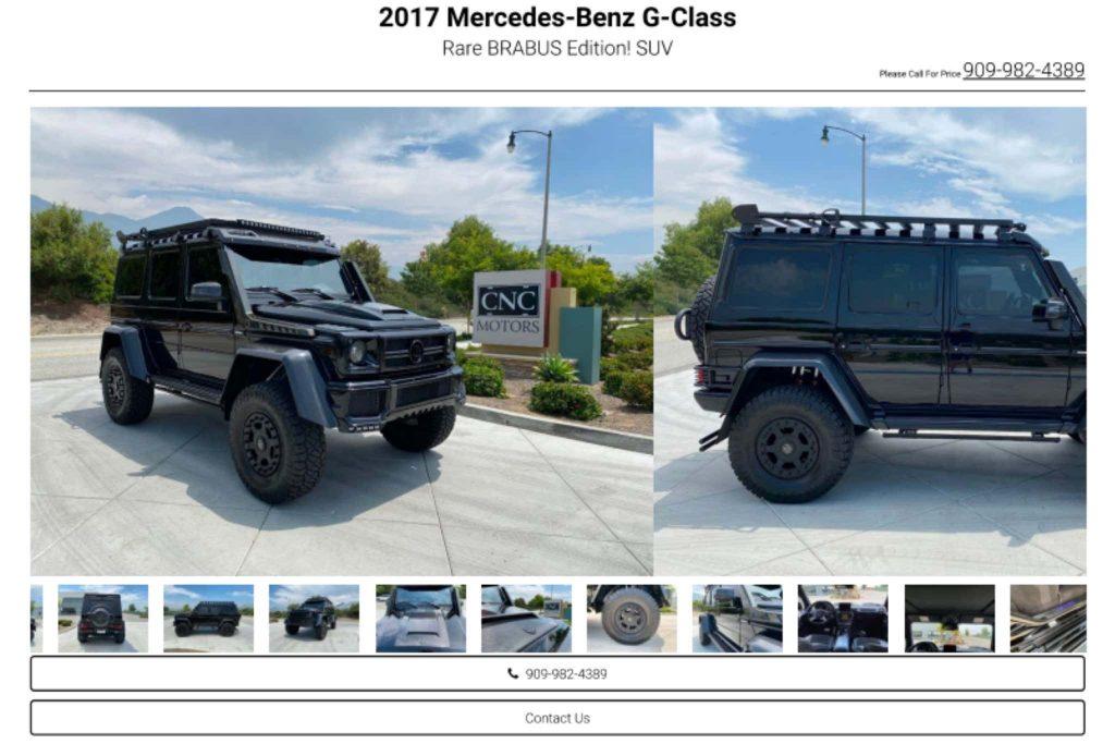 Mercedes SUV consigned at CNC | CNC