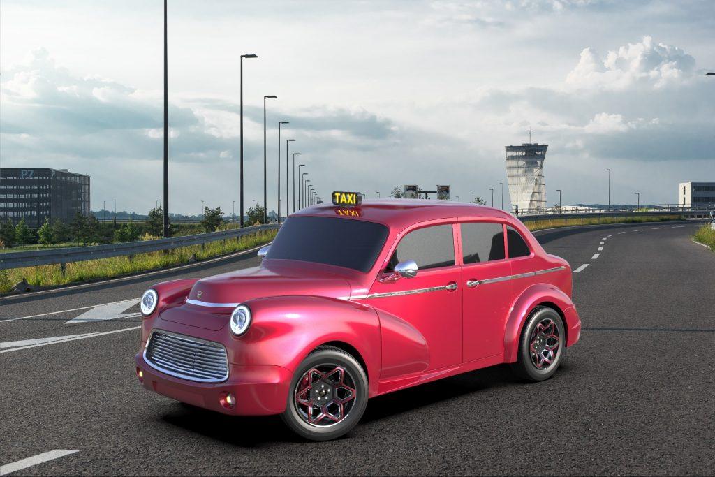 Electra eCab Taxi | Electra