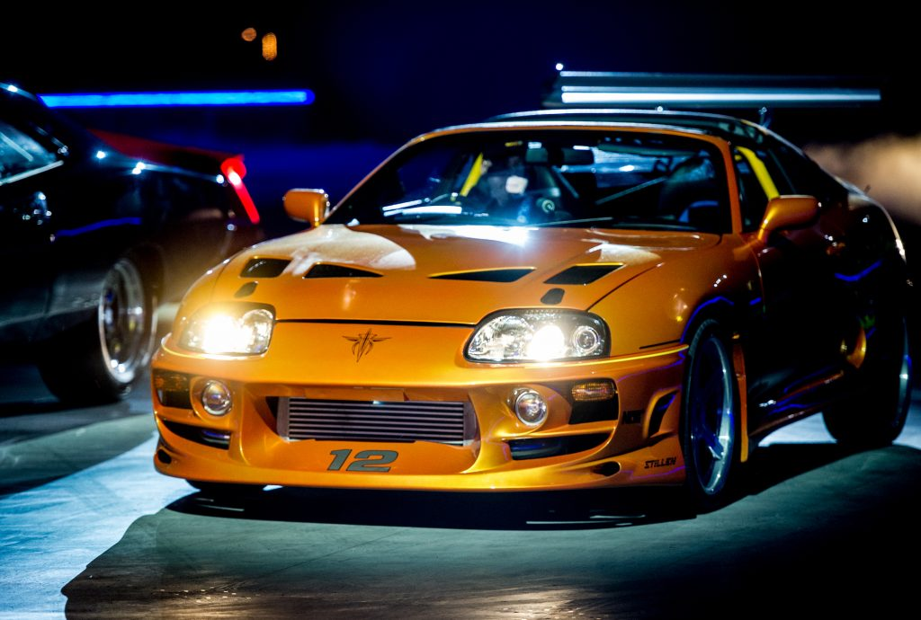 A 1994 Toyota Supra MK IV used on-screen by Paul Walker in The Fast and the Furious